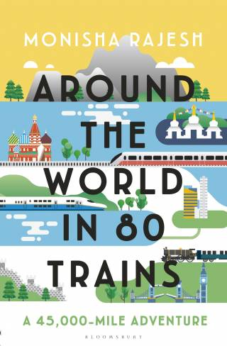 (Turkish) Around the World in 80 Trains: A 45,000-Mile Adventure